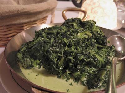 L'Angelus, spinach