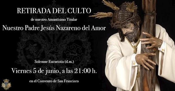 El Nazareno del Amor de Cádiz se retira del culto para ser restaurado