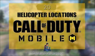Cara dapat helikopter cod mobile call of duty codm menemukan