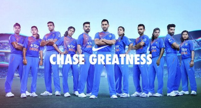 Team India unveils new kit ahead of World Cup T20 2016