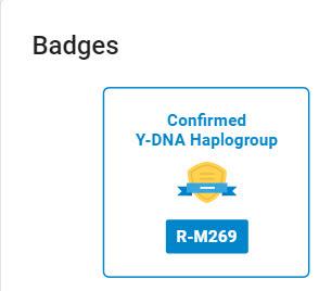 FTDNA badge