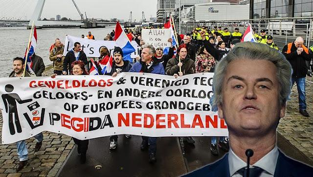 قائمة المنظمات اليمينية والتيارات الشعبوية  في هولندا