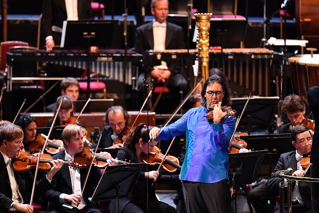 Prom 61 - Leonidas Kavakos, Vienna Philharmonic Orchestra - BBC Proms 2019 (Photo BBC / Chris Christodoulou)