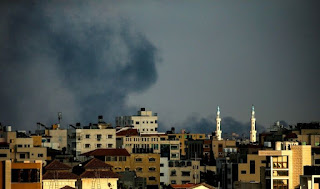 aircraft and tanks targeted 40 Hamas posts