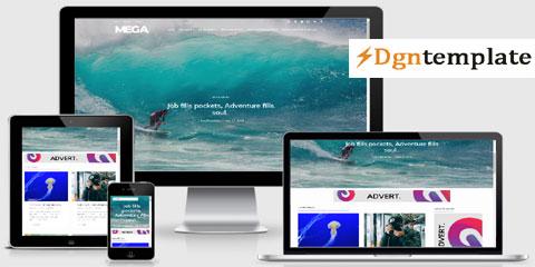 Mega Responsive Blogger Template-dgntemplate