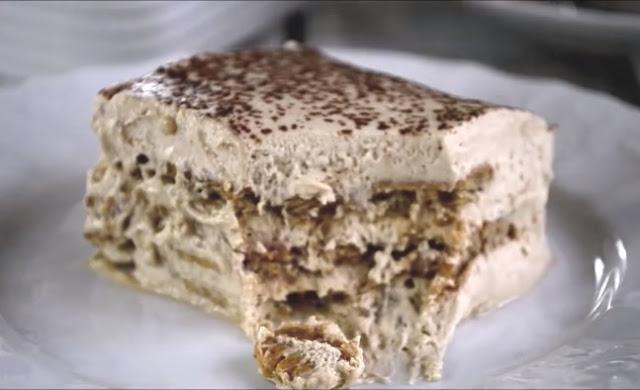 Cappuccino Icebox Cake #desserts #cake
