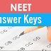 NEET 2020 - Original Question Paper And Answer key