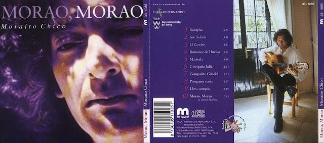 """LUIS EL ZAMBO COLABORA EN EL CD """"MORAO, MORAO"""" DEL GUITARRISTA MORAITO"""