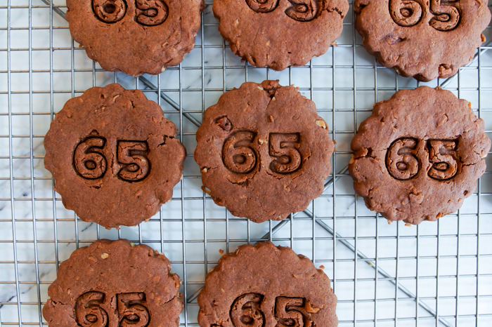 German Chocolate Cut-Out Cookies : from bake at 350 cookie blog