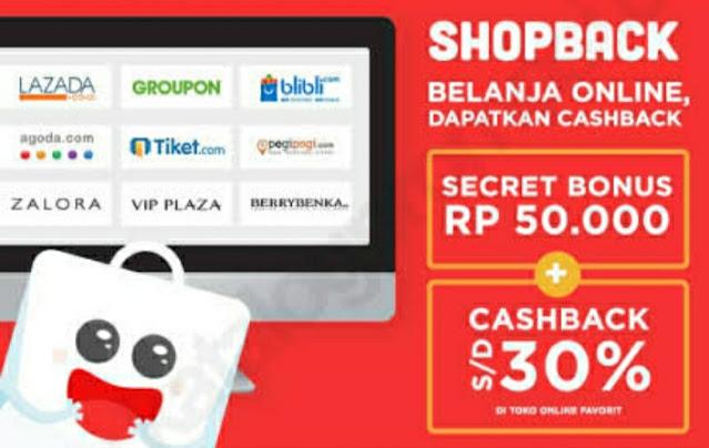 Daftar ShopeBack Gratis