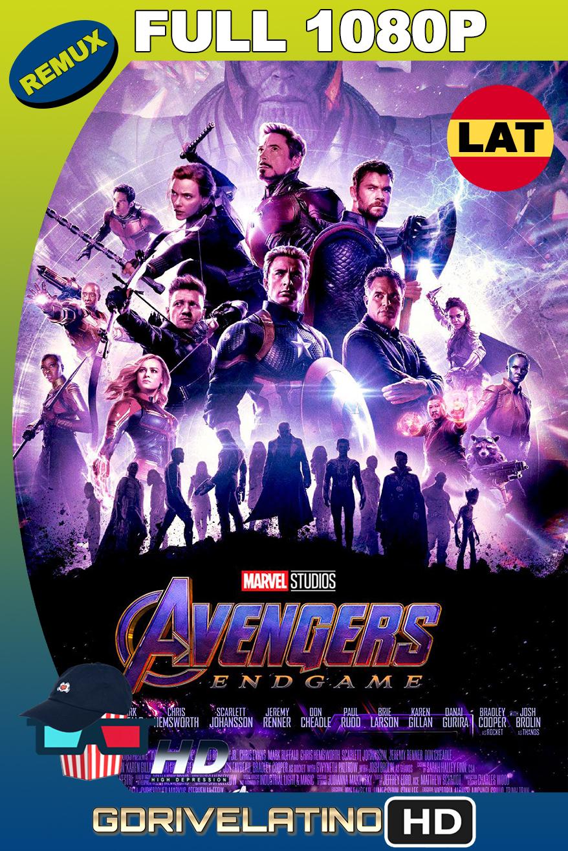 Avengers EndGame (2019) OPEN MATTE BDRemux 1080p Latino-Ingles MKV