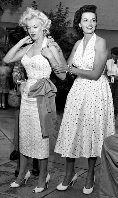 Marilyn e Jane Russel