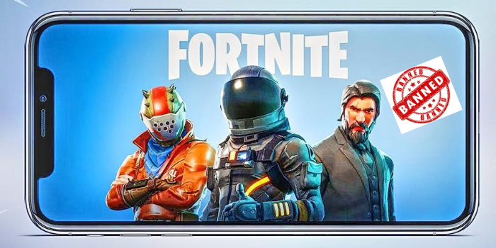"""The Game """"Fortnite"""" Also Has been Kicked Off from Google Play Store"""