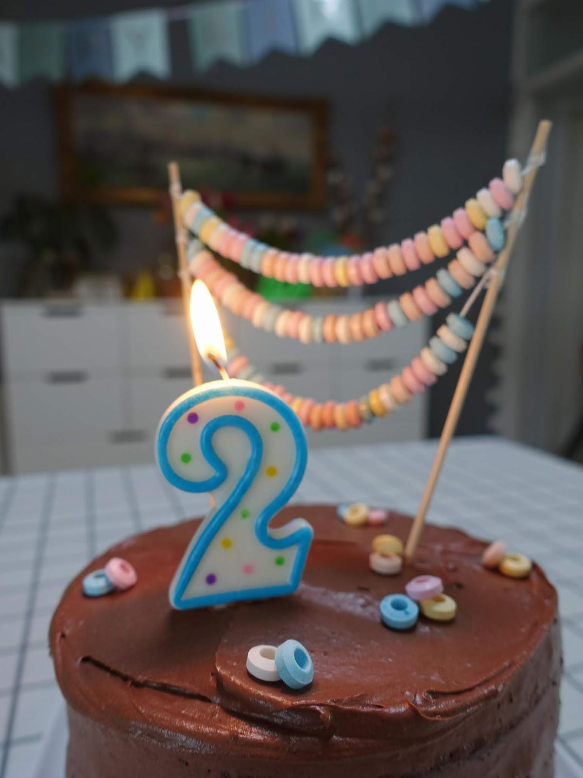 Der minibebsche Geburtstagskuchen