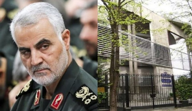 Two Iranian diplomats expelled from Albania, suspected as collaborators of Qasem Soleimani
