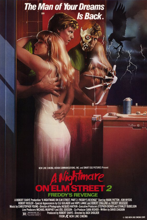 "Movie Review: ""A Nightmare on Elm Street 2: Freddy's Revenge"" (1985)"