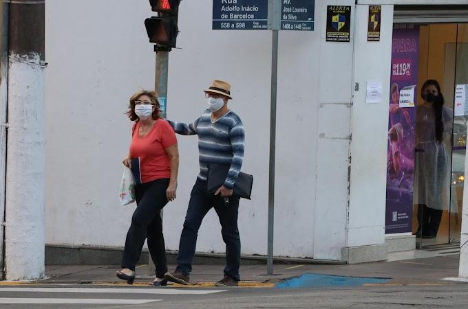 Gravataí adota o uso obrigatório de máscaras como política de saúde pública