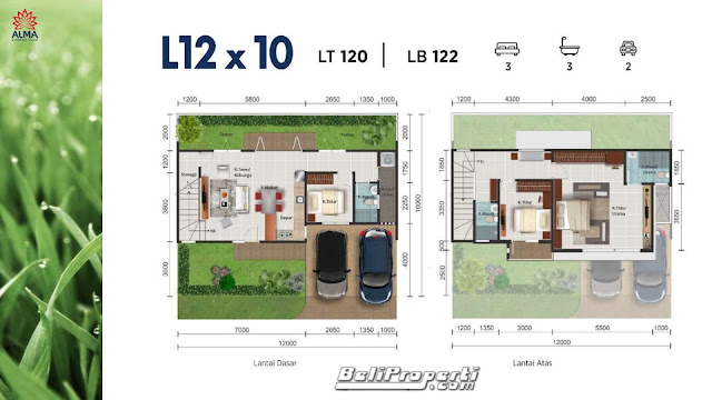 layout-alma-montana-village-gading-serpong