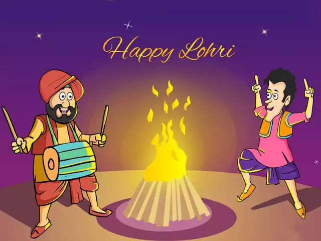 Happy Lohri Wishes & Quotes In Hindi