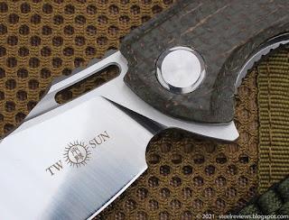 TwoSun TS162 Micarta flipper