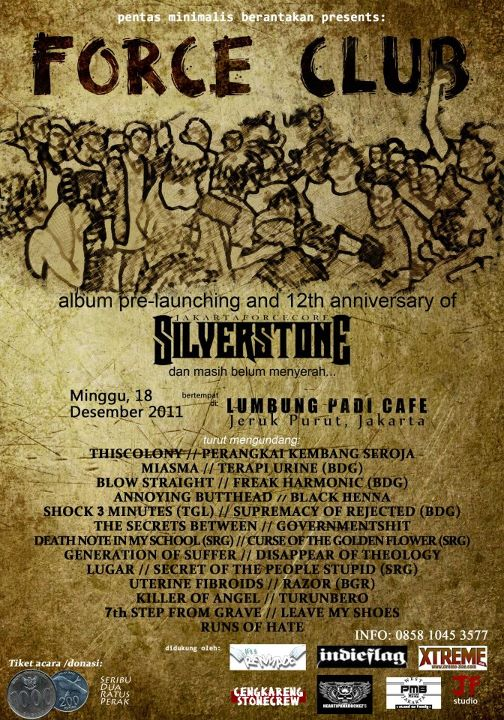 Force Club - Album Pre Launching And 12th Anniversary Of Silverstone