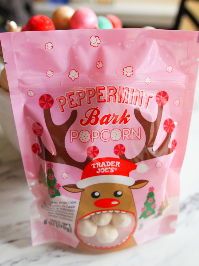 Should you buy Peppermint Bark Popcorn at Trader Joe's? Our review...