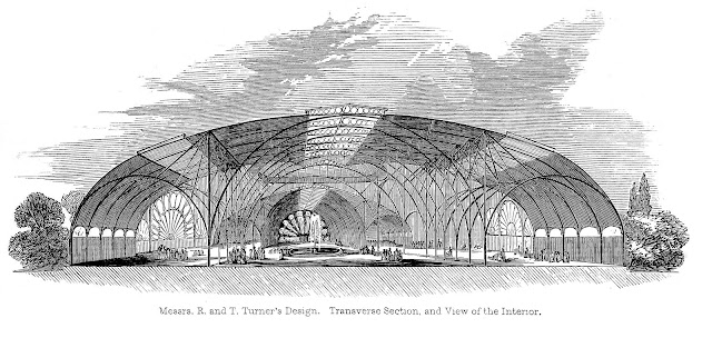 Turner design for 1851 Great Exhibition