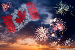 CANADA DAY FIREWORKS WALLPAPER IMAGES