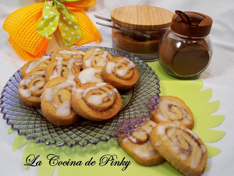 Galletas Cinnamon Roll