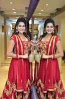 Jenny Honey in Stunning Dark Red Anarkali Dress at Splurge   Divalicious curtain raiser ~ Exclusive Celebrities Galleries 108.JPG