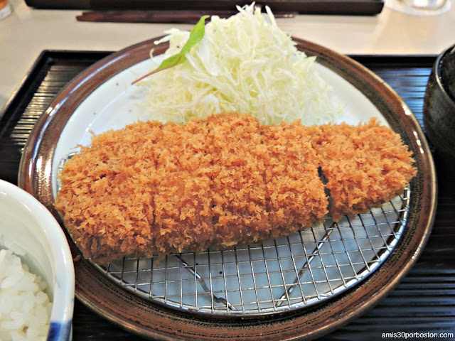 Filete de Cerdo en Tonkatsu Maisen Aoyama Honten