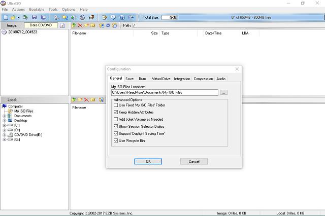 تنزيل برنامج UltraISO للتعامل مع صور ISO CD و DVD بكل سهولة