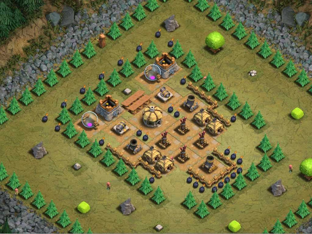 Goblin Base Clash of Clans Fikova