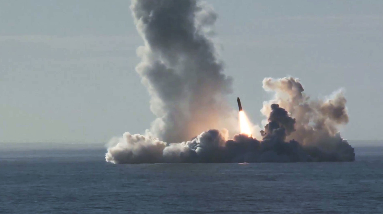 """Sineva"" and ""Bulava"": Russia tested ballistic missiles"