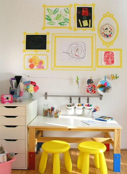 Ideas for children's study areas 2