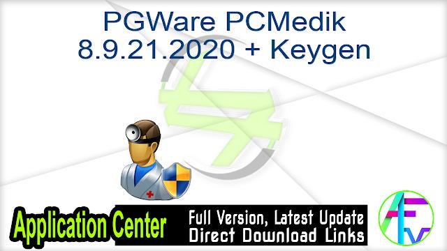 PGWare PCMedik 8.9.21.2020 + Keygen