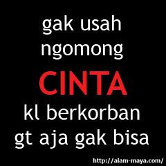 Story wa gak usah ngomong cinta