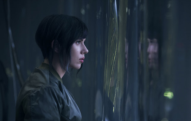 First Look Scarlett Johansson Ghost in the Shell
