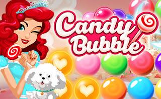 jogo grátis Candy Bubble Shooter online
