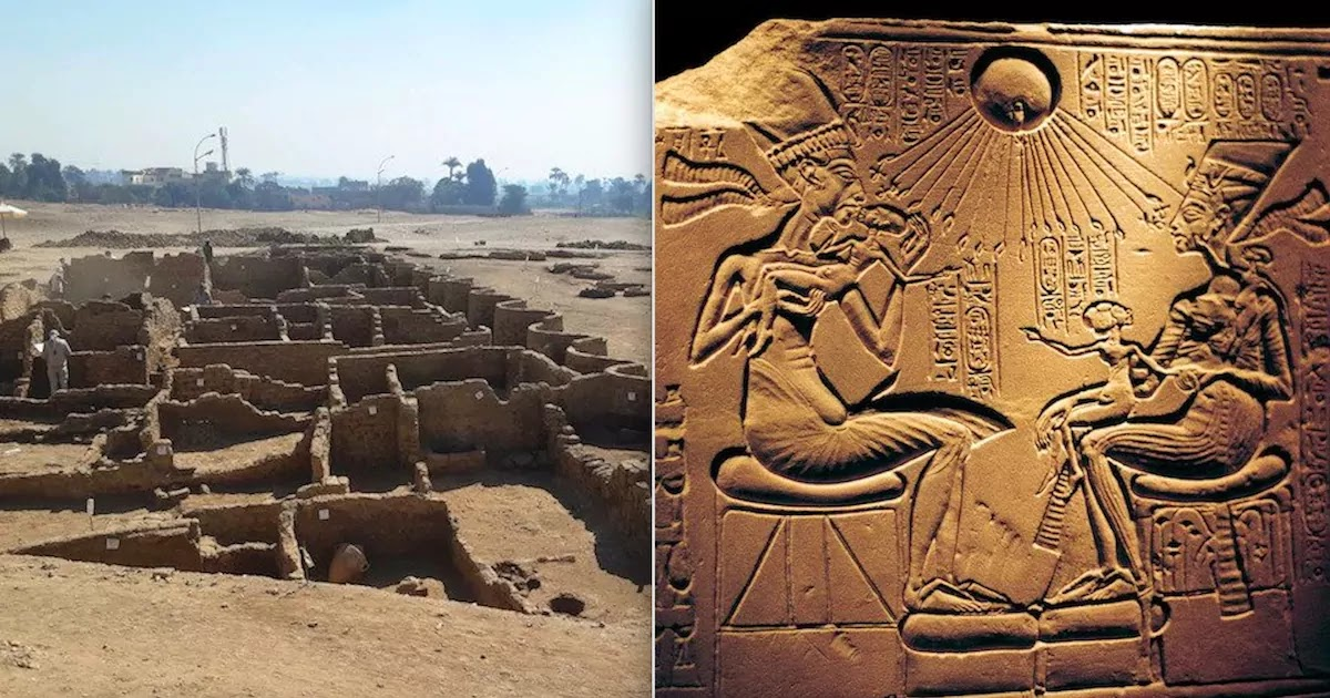3,000-Year-Old Lost 'Golden City' Discovered In The Egyptian Desert Near Luxor