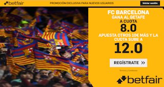 betfair supercuota doble Barcelona v Getafe 15-2-2020