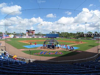 Home to center, Tradition Field
