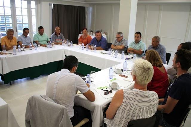 Fuerteventura.- Ayuntamiento de Antigua  y AECA marcan una hoja de ruta para impulsar Caleta de Fuste