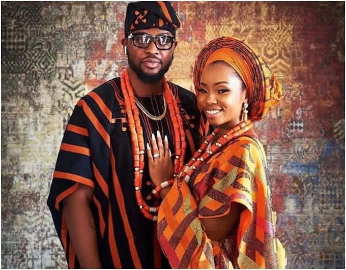 BBNaija: Nigerians react as Bambam, Teddy A finally get married [PHOTOS]