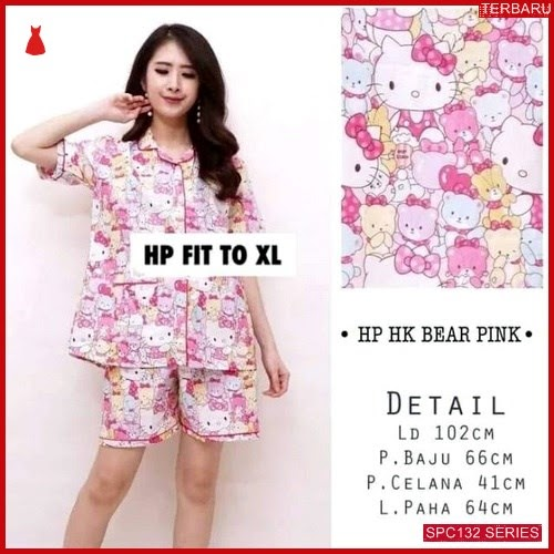 SPC132P50 Piyama Kitty 3 Celana Baju Tidur Wanita | BMGShop