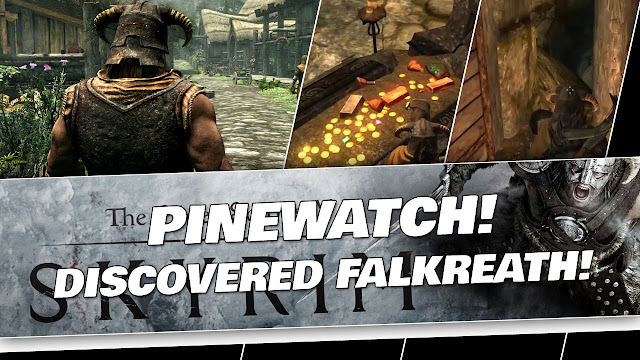 SKYRIM 2020 Gameplay! Explored Pinewatch and Discovered Falkreath!