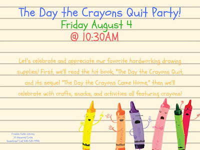 Franklin Public Library: The Day the Crayons Quit Party
