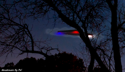 Triangular Shaped UFO Sighted Over Basking Ridge, New Jersey
