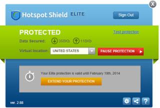 hotspod shield connected