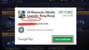 Cara Top Up Mobile Legends